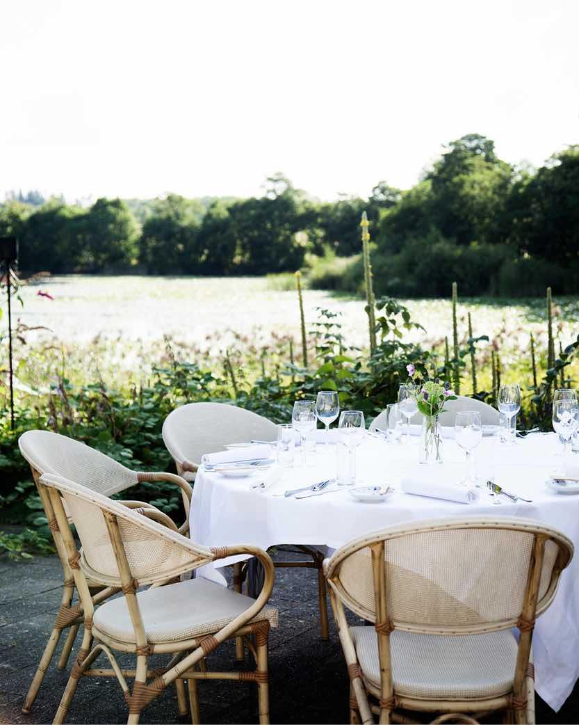 Bryllupsfrokost i naturen på Herthadalen