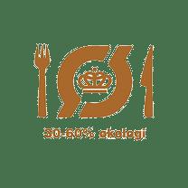 økologimærket på Restaurant Herthadalen
