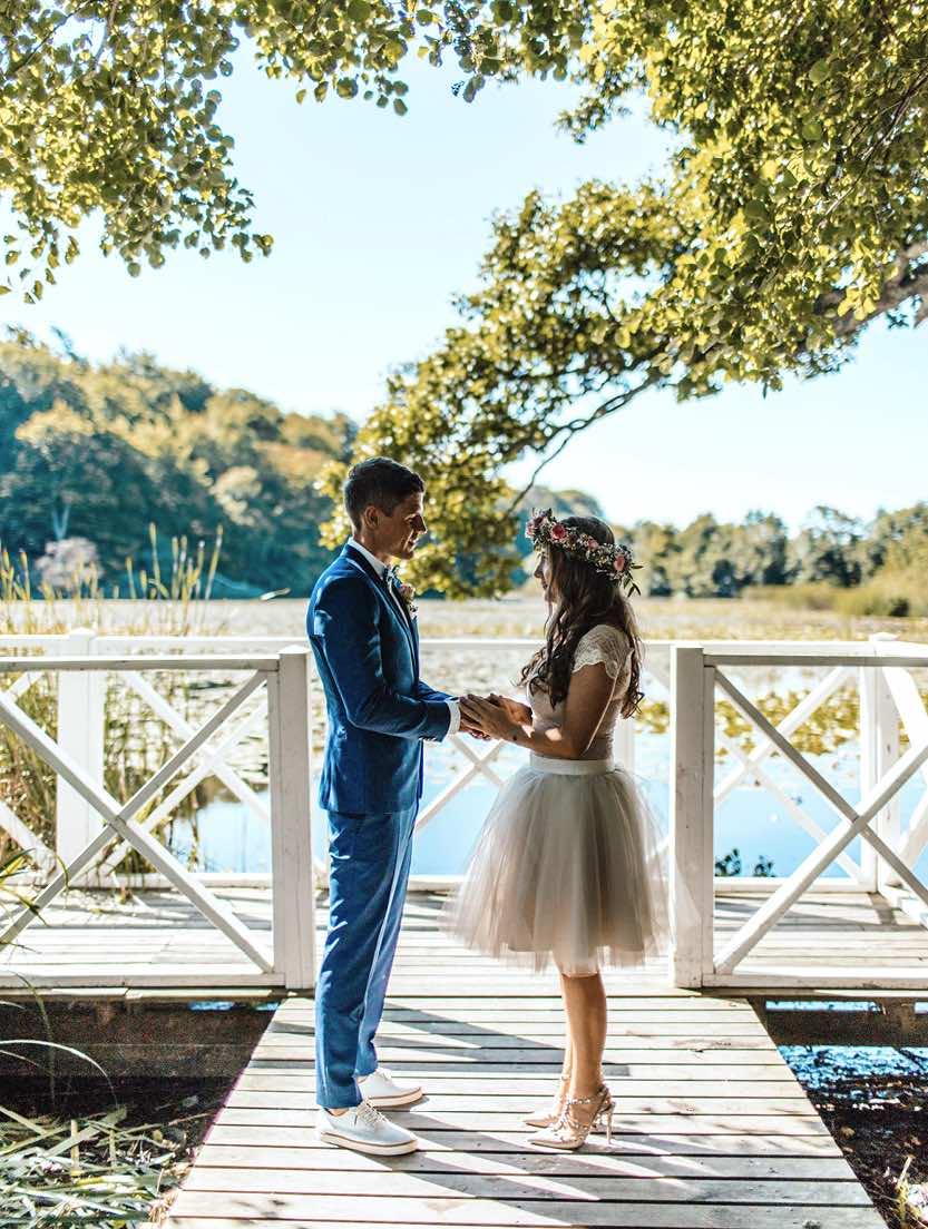 Bryllupslokaler med vielse i det fri