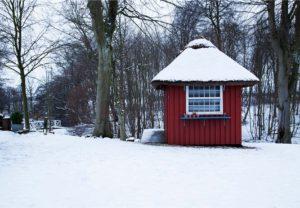 Vinter og Gårdbutik på Restaurant Herthadalen