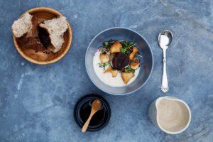 Gastronomi i skoven på Restaurant Herthadalen