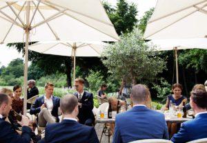 Hold firmafest i autentiske selskabslokaler nær Roskilde